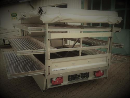 Hochlader mit 6 großen ausziehbaren Schubladen