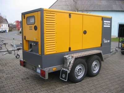 Stromaggregat-Fahrgestell