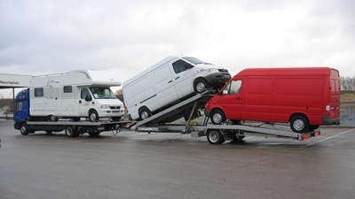 Fahrzeug- & Wohnwagen-Transporter