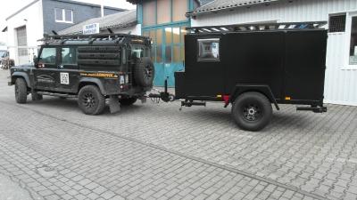 Offroad-Wohnwagen