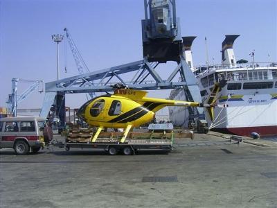 Hubschrauber-Transport-Anhänger